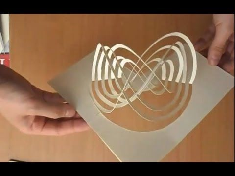11 How To Make An Amazing Kirigami Pop Up Card Tutorial - YouTube