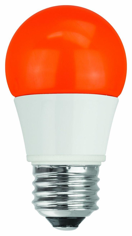 Varidesk exec 40 review varidesk pro desk 60 darkwood review workfit t - Tcp Rlas155wor Led A15 40 Watt Equivalent 5w Orange Colored Light Bulb