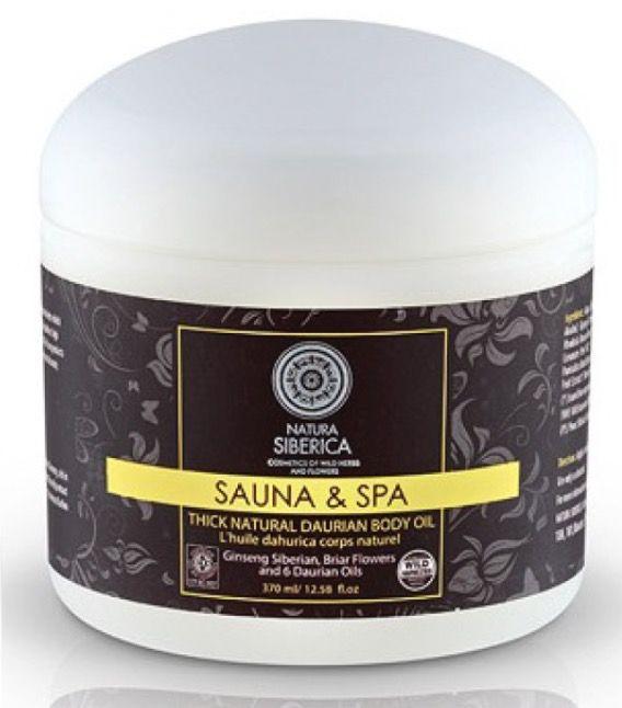 SAUNA&SPA ACEITE DAÚRICO CORPORAL, 370 ML  Ginseng Siberiano, Rhodiola Rosea y Aceites Daúricos