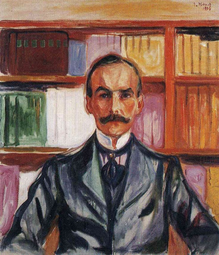 Harry Graf Kessler by Edvard Munch 1904.