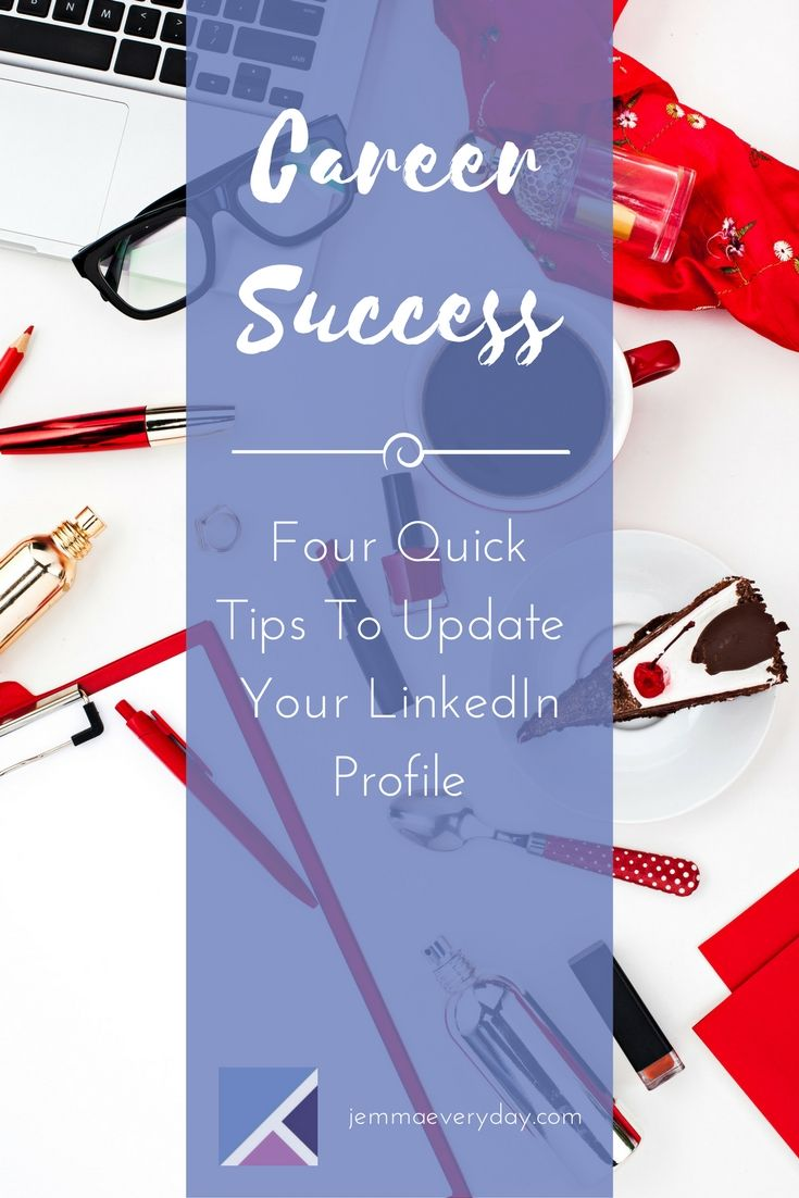 impressive objective for resume%0A Four Quick Ways to Update Your LinkedIn Profile