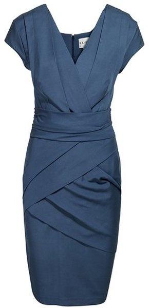 Energy: Steel blue Reiss Lola Bandage Dress via Lyst. Dress for Jess?