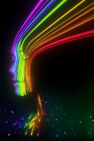 Cool spectrum girl iphone wallpaper hd you can download - 3g wallpaper hd ...