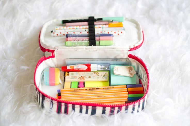 Artesanato Sustentável ~ 17 melhores ideias sobre Estojo Escolar no Pinterest Armazenamento em bolsa escolar