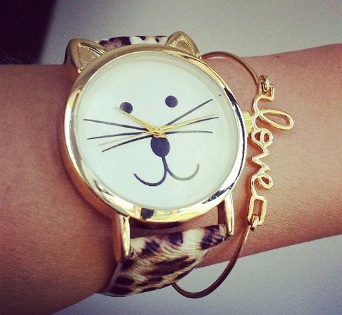 Reloj gato :)