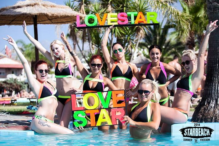 Let us introduce our new PROMO GIRLS for Starbeach 2014!!