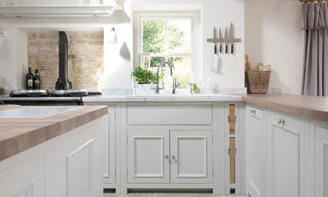 Chichester painted country kitchen, fitted kitchen and kitchen ideas