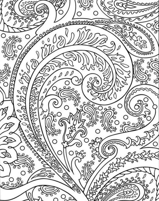 Fun Abstract Coloring Page