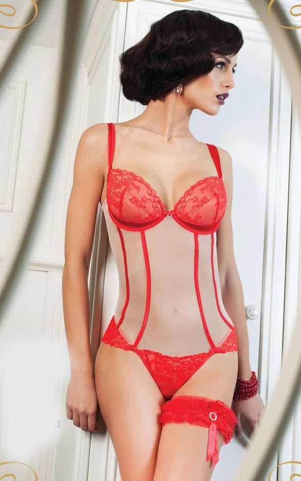 #lingerie #red #Gracya