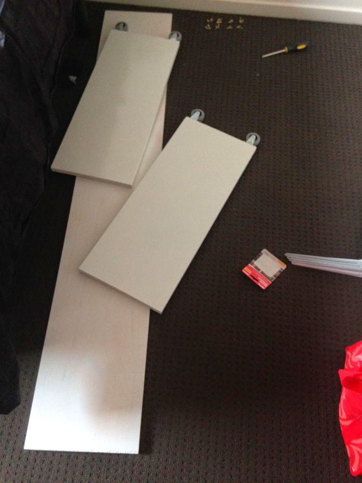love tris diy bed desk replica ikea malm occasional table