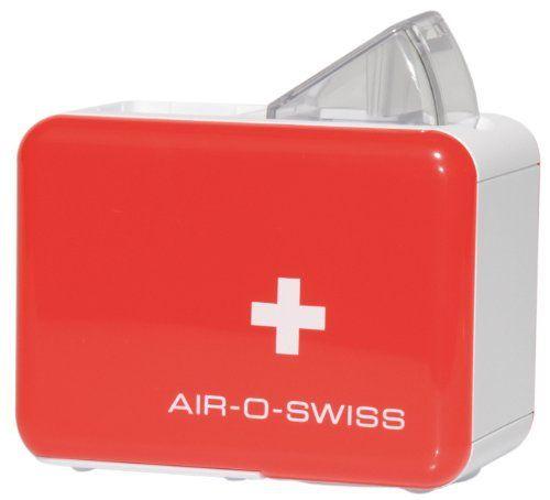 Air-O-Swiss 7146 Humidificateur de voyage à ultrasons: Poids : 0,3kg Dimensions (L x L x H) : 11 x 6,5 x 8 cm Fait de plastique ABS de…