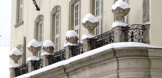 A Zenepalota erkélye Fotó: Kupcsik Sarolta