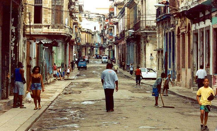 All of this is Cuba, a poor and dirthy...