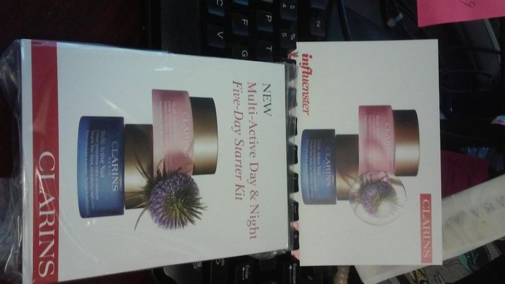 Great new products to try compliments of Clarins and Influenster