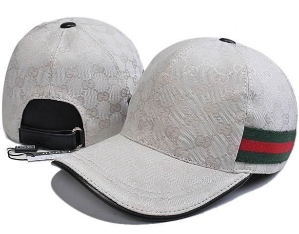 Gucci Original GG Canvas Baseball Hat with Web  8f806fddf9a