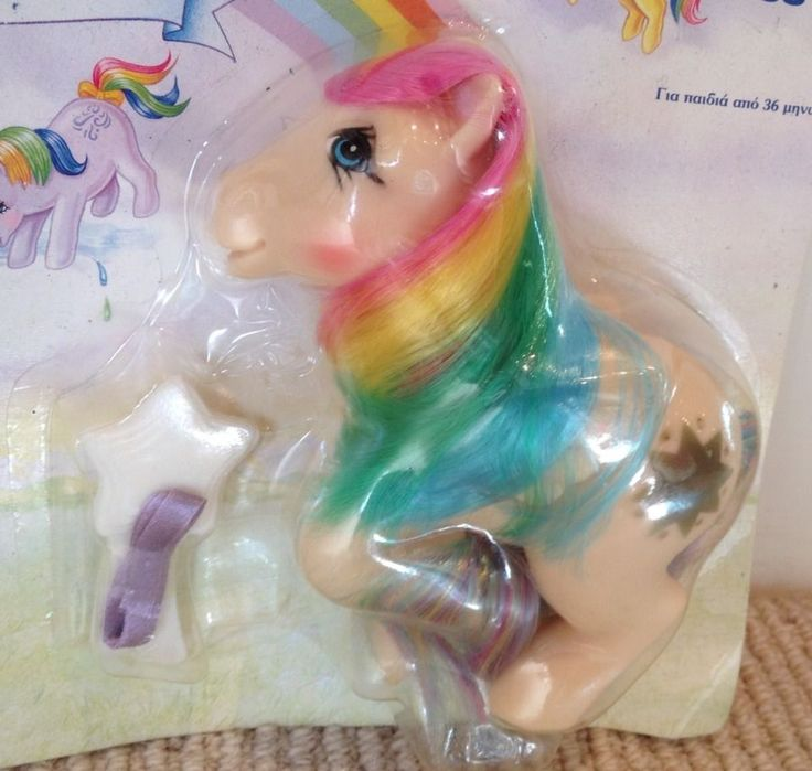 MY Little Pony G1 Vintage Greek Version Starshine Neraida NIB MOC MIB | eBay
