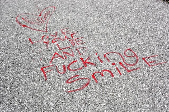 effin' smile