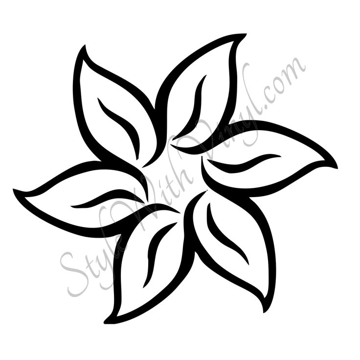 1000 ideas about Easy To Draw Flowers on Pinterest Easy To Draw ...
