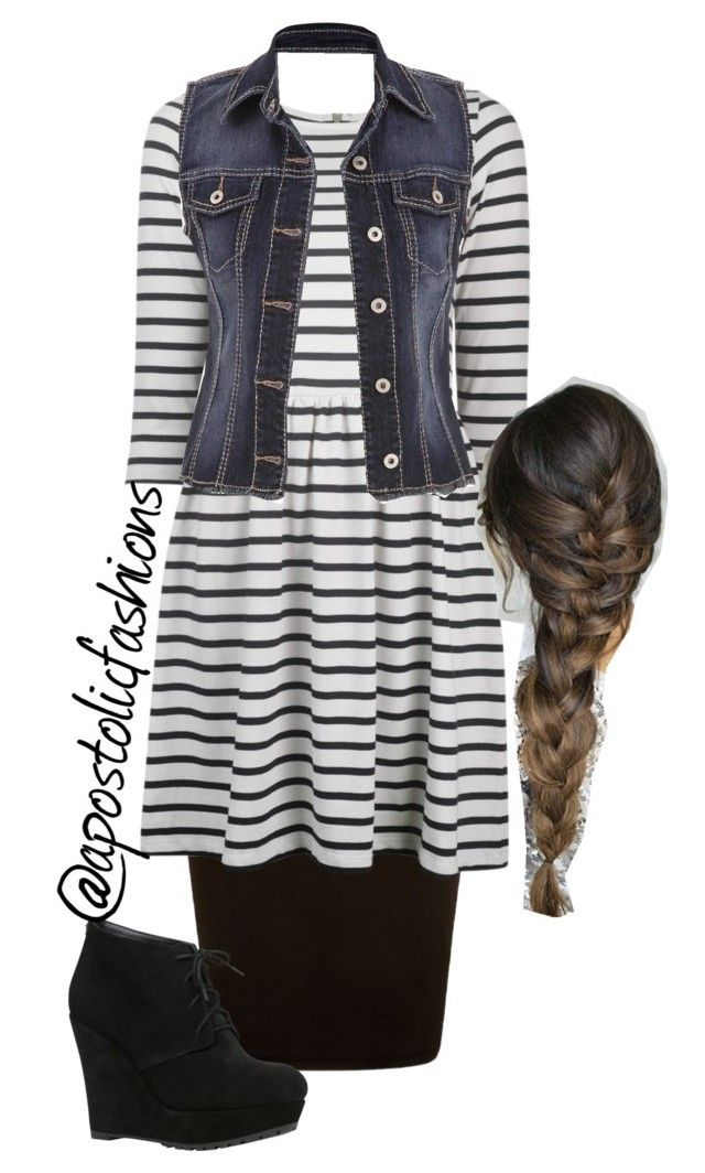 """Apostolic Fashions #982"" by apostolicfashions on Polyvore featuring Ganni, ALDO and maurices"