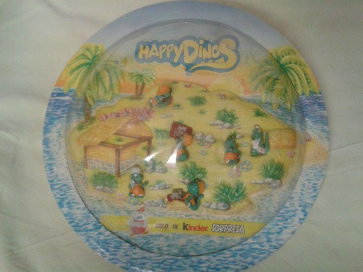 Sehr seltenes Ü-Ei Diorama Happy Dinos aus Italien von 1995   eBay