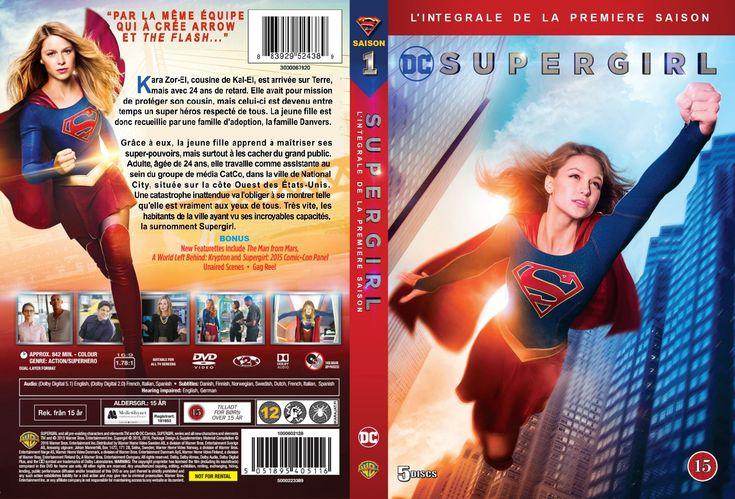 Jaquette DVD Supergirl saison 1 custom v2