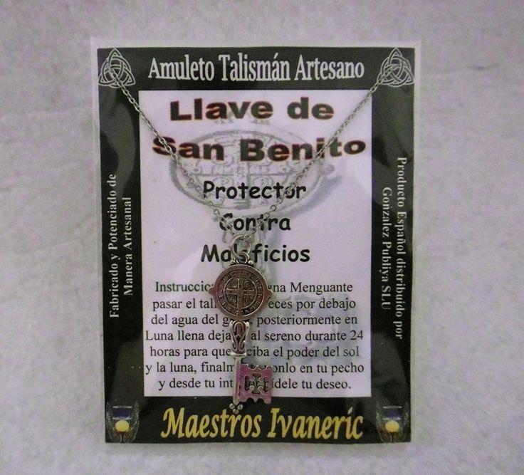 TALISMÁN  LLAVE DE SAN BENITO. 5€