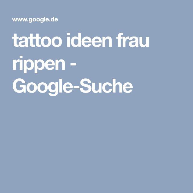 tattoo ideen frau rippen - Google-Suche