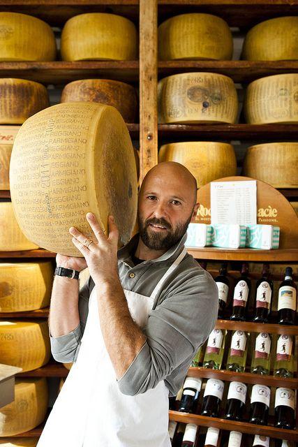 Cheese market - Livorno, Italy