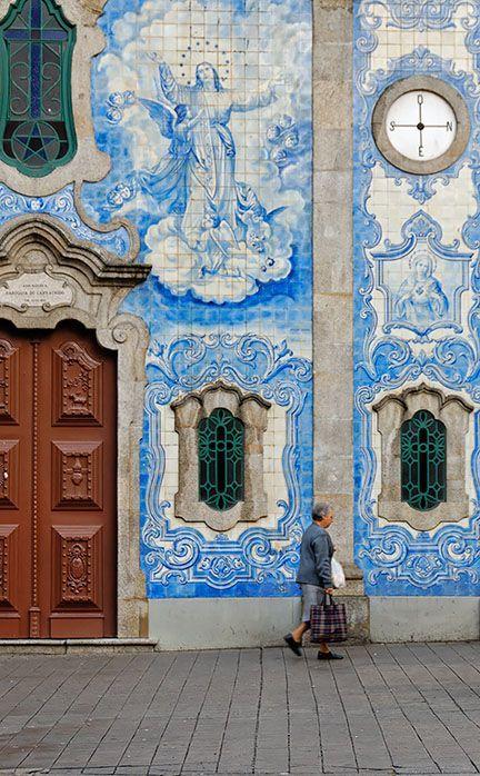 Igreja Do Carvalhido - Porto, Portugal Lisboa.