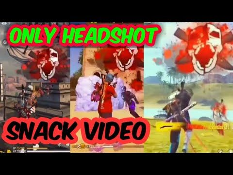 Only Headshot Free Fire Raistar Tik Tok And Headshot Most Trending Video Free Fire Snack Video Youtu Headshots Download Cute Wallpapers Trending Videos