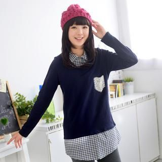 Buy '59 Seconds – Mock Two-Piece Sweater' with Free International Shipping at YesStyle.com. Browse and shop for thousands of Asian fashion items from Hong Kong and more!