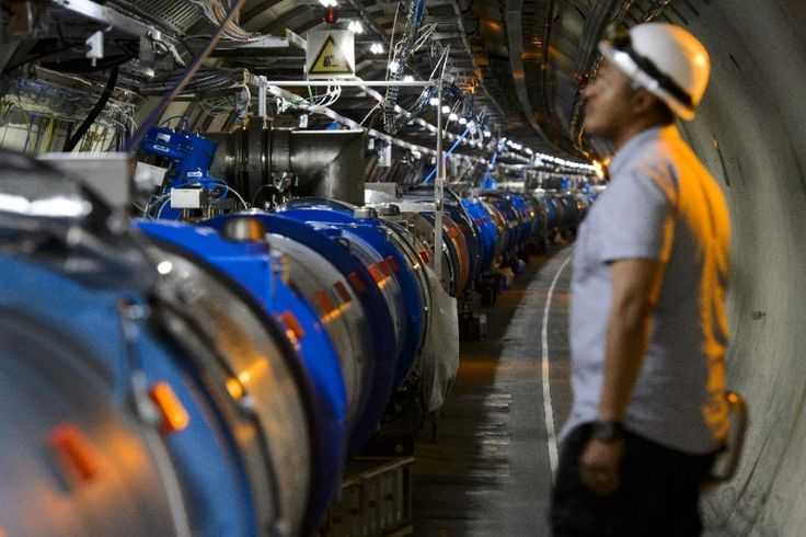 World's largest particle collider busts record - Yahoo News