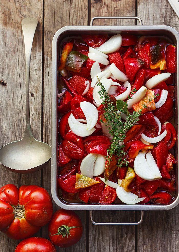Me encanta la salsa de tomate hecha con tomates de huerta. No hay marca en el mercado que ni se acerque al sabor de una salsa de tomat...