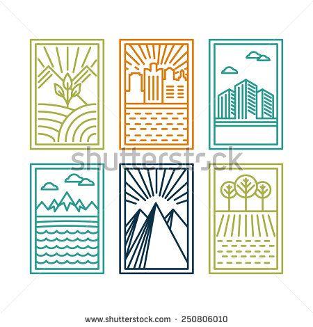 Стоковые фотографии и изображения Mountain Circle Vector | Shutterstock