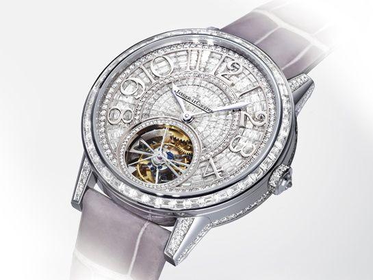 La montre Rendez-Vous Tourbillon précieuse de Jaeger-LeCoultre