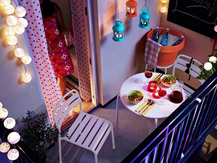 Great ikea apartment balcony