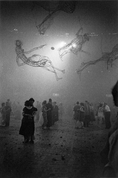 Бал в школе искусств Челси? Лондон, 1959 год.