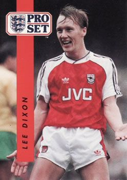 1990-91 Pro Set English League #3 Lee Dixon Front