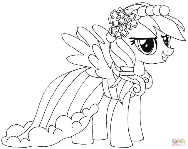 27 Brilliant Photo Of Rarity Coloring Pages My Little Pony