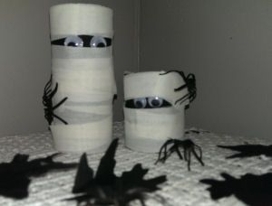toilet paper tube halloween decorations google search