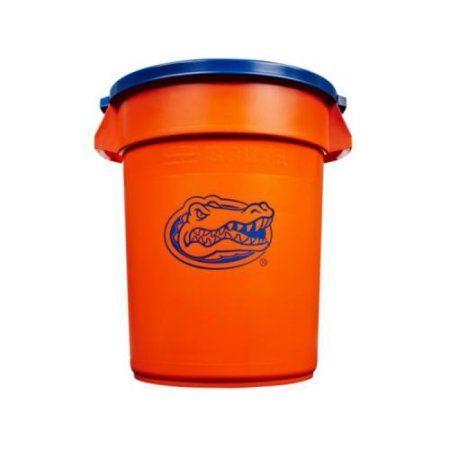 Florida Gators University Of Florida 32g Brute Tc Multicolor 32 Gallon Trash Can Rubbermaid Rubbermaid Commercial Products