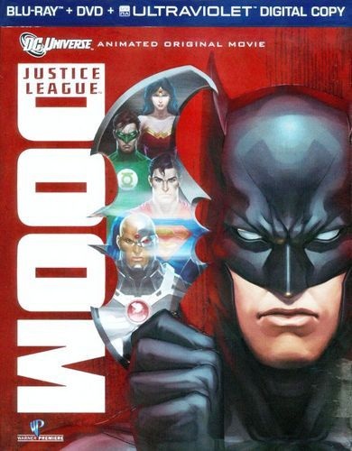 Justice League: Doom [2 Discs] [Blu-ray/DVD] [2012]