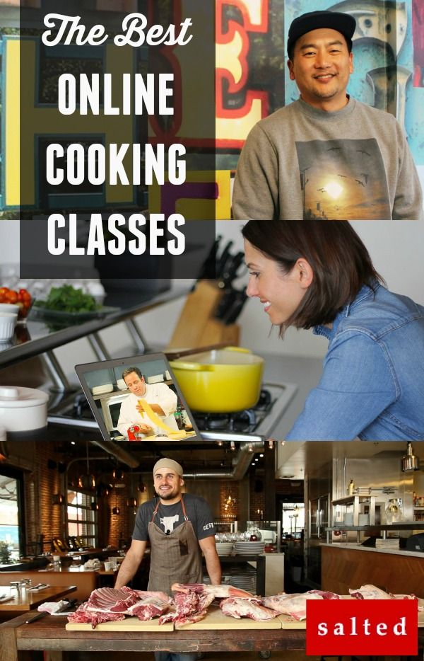Salted.tv - The BEST Online Cooking Classes Available. Learn why! @Salted.tv