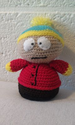Crocheted Eric Cartman from South Park - FREE Amigurumi Crochet Pattern and Tutorial