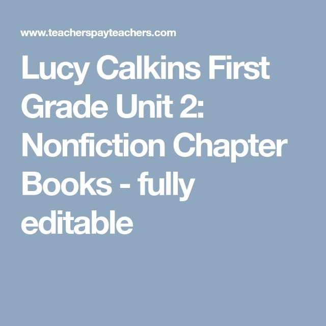 lucy calkins writing workshop first grade Remodeling the workshop: lucy calkins on writing instruction today  writing—and on supporting those kinds of writing even in kindergarten and 1st and 2nd grade and then there's a .
