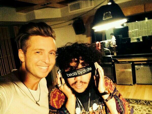 Ryan Tedder and Benny Blanco....aaaaaaahhhhh Ryan I'm losing my mind you're so wonderful!!!!!!!! aaaaahhhh!!!!!!