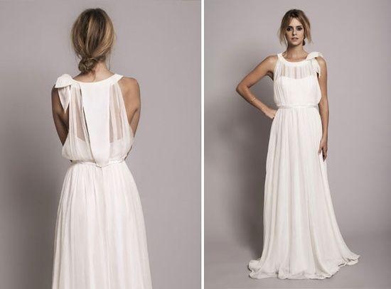 27 Awesome Simple Wedding Dresses For Cute Brides: Vestido Estilo Romano - Buscar Con Google