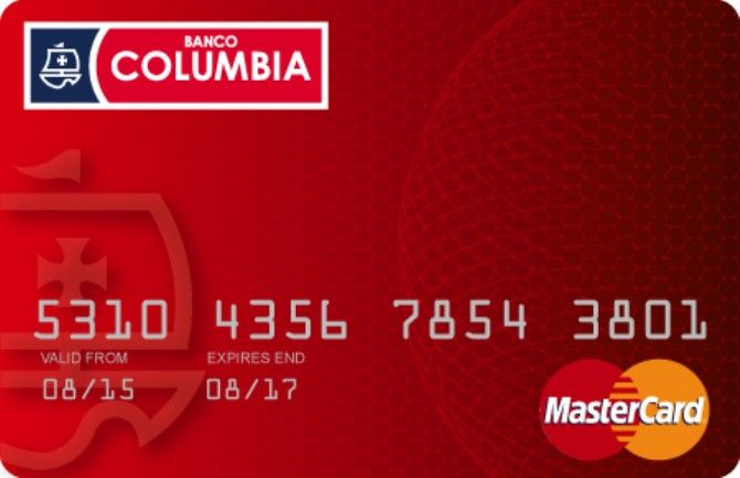 Tarjetas Columbia MasterCard y VISA | Banco Columbia