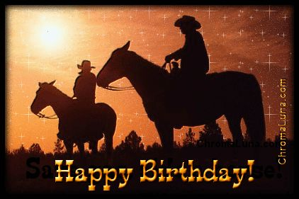 gif birthday images WITH HORSES - Google Search