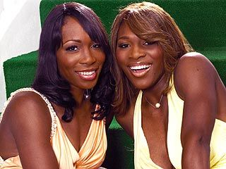 The Williams' sisters  TENNIS GOLD MEDALISTS. Serena was a little boy. Her dad was broke & saw how much$$$ women tennis players made!! He made a decision. He knew if he passed off a son as a daughter, & if he worked them hard like Joe J. --Jackson5 father he could amass great wealth for self & family. Serena is NOT a girl. In fact, she/he could have been a linebacker. Obviously. Nobody dares state the obvious scam on the sport.